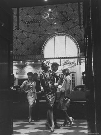 Women Modeling Evening Suits by Gordon Parks