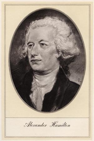Alexander Hamilton, American Politician, (Early 20th Centur)