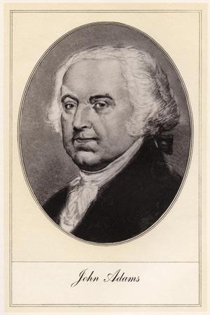 John Adams, Second President of the United States, (Early 20th Centur)