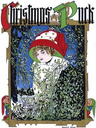 Puck Christmas 1910
