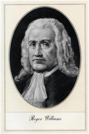 Roger Williams, Anglo-American Theologian
