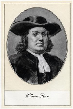William Penn, Founder of Pennsylvania, (Early 20th Centur)