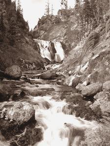 Sepia Yellowstone by Gordon Semmens