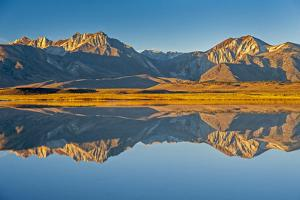 Mount Morrison and Laurel Mountain of the Eastern Sierra Nevada Crest by Gordon Wiltsie