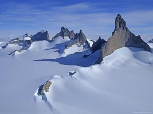 Mount Ulvetanna and Fenris Mountains by Gordon Wiltsie