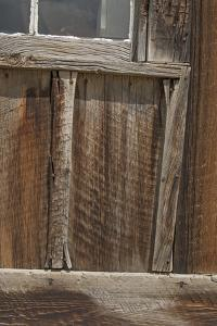 Old Weathered Wood Covers the Wall of a Building by Gordon Wiltsie