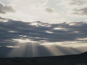 Sunrise in Death Valley, with Amargosa Range in Background by Gordon Wiltsie