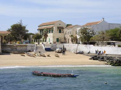 Goree Island Famous for its Role in Slavery, Near Dakar, Senegal, West Africa, Africa-Robert Harding-Photographic Print