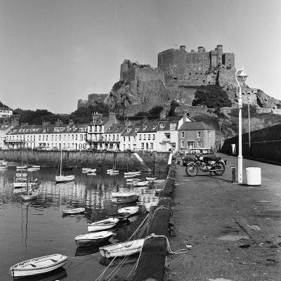 Gorey Harbour, Channel Islands 1965-Staff-Photographic Print