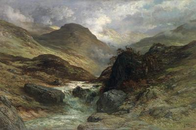 Gorge in the Mountains, 1878-Gustave Dor?-Giclee Print