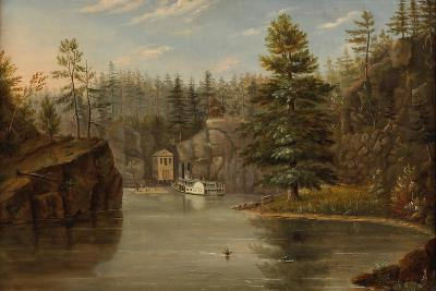 Gorge of the St. Croix, 1847-Henry Lewis-Giclee Print