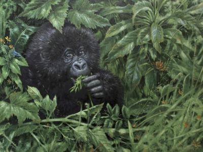Gorilla 1-Michael Jackson-Giclee Print