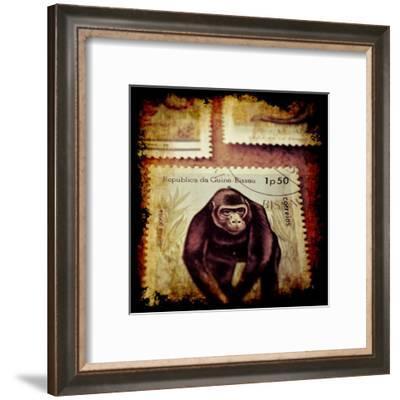 Gorilla Stamp-Jean-François Dupuis-Framed Art Print