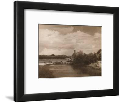 'Goring Lock', c1927, (1927)-Reginald Belfield-Framed Photographic Print