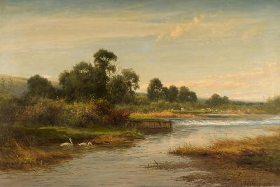 Goring on Thames, 1873-Benjamin Williams Leader-Giclee Print