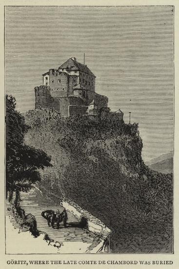 Goritz, Where the Late Comte De Chambord Was Buried--Giclee Print