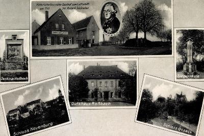 Goseck Anhalt, Schloss, Gutshaus Roßbach, Gasthof--Giclee Print