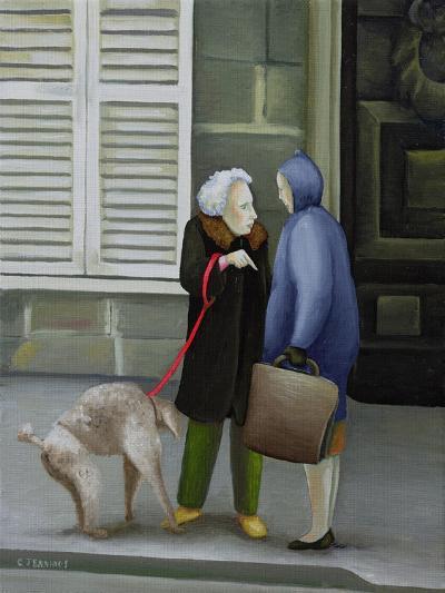 Gossip, Ile St. Louis-Caroline Jennings-Giclee Print