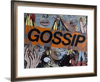 Gossiping-Dan Monteavaro-Framed Giclee Print