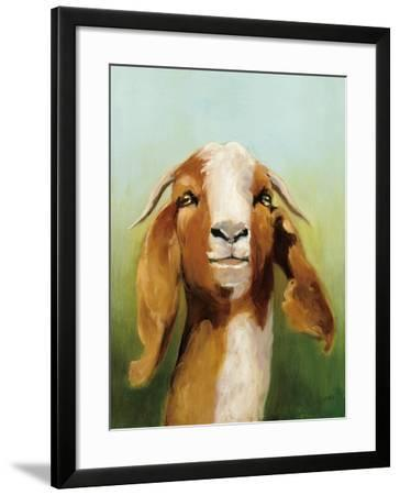 Got Your Goat v2-Julia Purinton-Framed Art Print