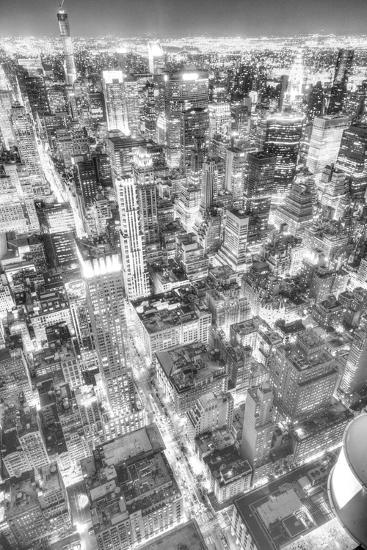 Gotham City 1-2-Moises Levy-Photographic Print