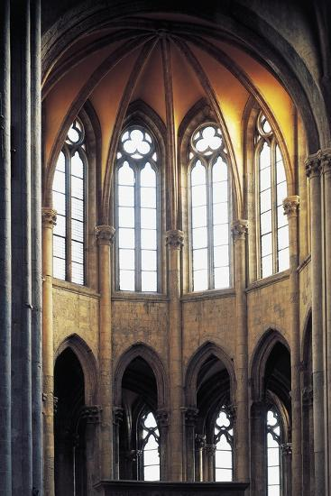 Gothic Apse, Basilica of St Lawrence, Naples, Campania, Italy--Giclee Print