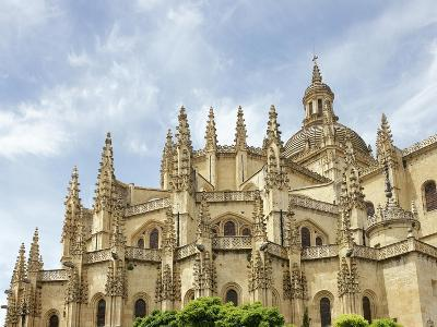 Gothic Art, Spain, Segovia, Cathedral, 16th Century, Exterior, Detail--Giclee Print