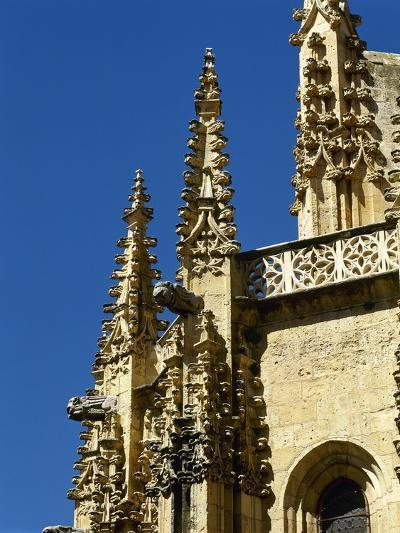 Gothic Art, Spain, Segovia, Cathedral, 16th Century, Exterior, Pinnacles--Giclee Print
