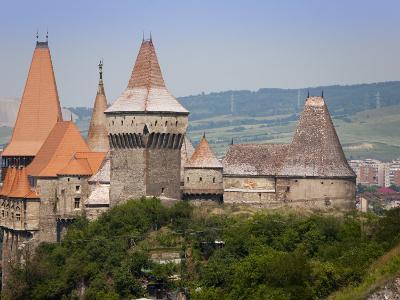 Gothic Carvin Castle, Hunedoara, Romania, Europe-Marco Cristofori-Photographic Print