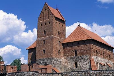 Gothic Castle of Trakai--Giclee Print