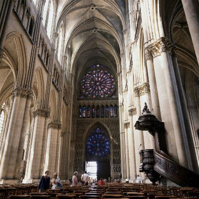 Gothic Cathedral Reims Champagne, France--Photographic Print