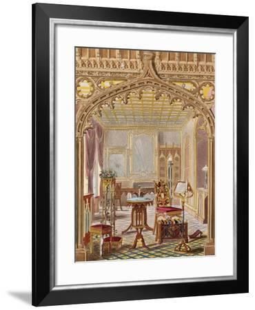 Gothic Furniture-Augustus Welby Northmore Pugin-Framed Giclee Print