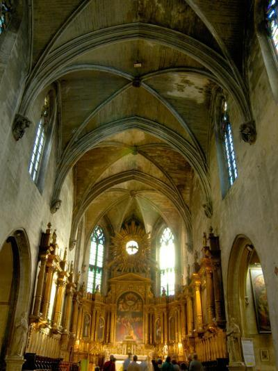 Gothic Interior of St. Pierre Church, Avignon, Provence, France-Lisa S^ Engelbrecht-Photographic Print