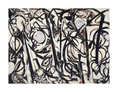 Gothic Landscape, 1961-Lee Krasner-Art Print
