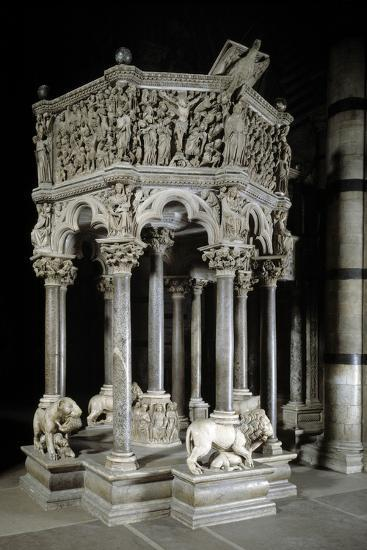 Gothic Pulpit of the Siena Cathedral by Pisano--Photographic Print