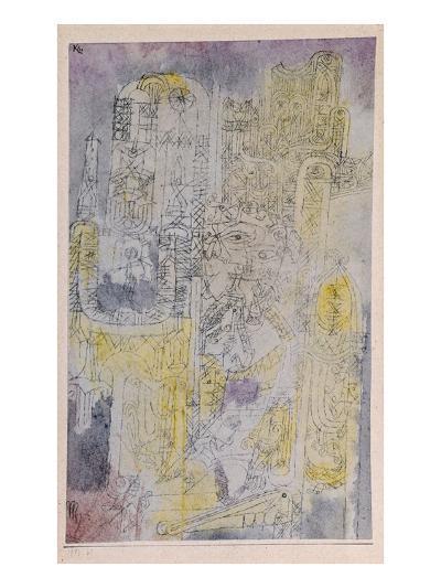 Gothic Rococo; Gotisches Rococo-Paul Klee-Giclee Print