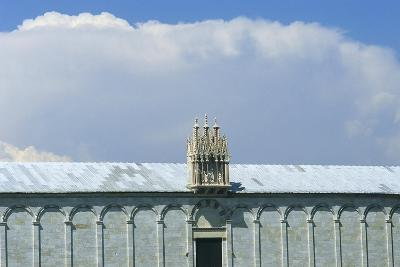 Gothic Tabernacle Containing Statues of the Virgin and Child with Four Saints--Giclee Print
