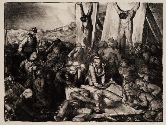 Gott Strafe England, 1918-George Wesley Bellows-Giclee Print
