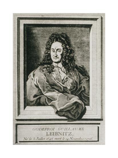 Gottfried Wilhelm Leibnitz, German Philosopher-Science Photo Library-Giclee Print