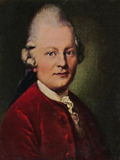 'Gotthold Ephraim Lessing 1729-1781. - Gemälde von Anton Graff', 1934-Unknown-Giclee Print