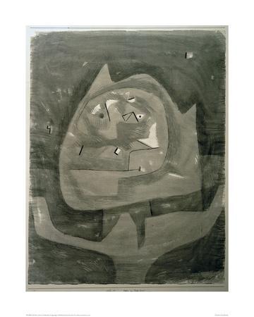 Gotze im Fieberland-Paul Klee-Giclee Print