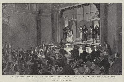 Gounod's Mock Doctor by the Students of the Guildhall School of Music at their New Theatre--Giclee Print