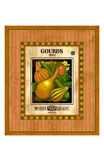 Gourd Seed Pack--Giclee Print