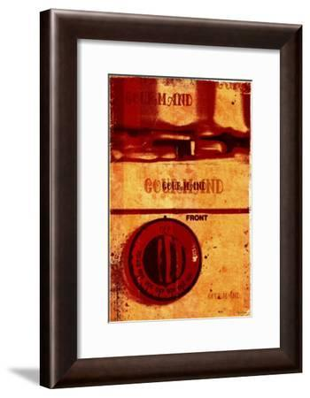 Gourmand: Front III-Pascal Normand-Framed Art Print