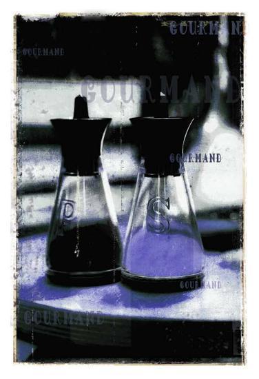 Gourmand: Salt & Pepper I-Pascal Normand-Art Print