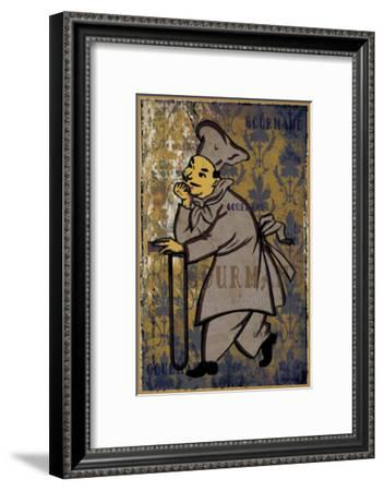 Gourmand - the Chief I-Pascal Normand-Framed Art Print