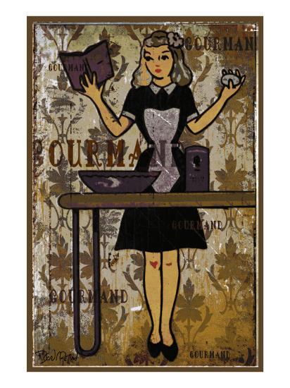 Gourmand - the Chief II-Pascal Normand-Art Print
