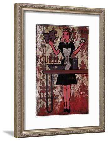 Gourmand: The Chief IV-Pascal Normand-Framed Art Print