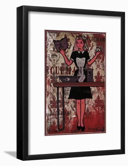 Gourmand - the Chief IV-Pascal Normand-Framed Art Print
