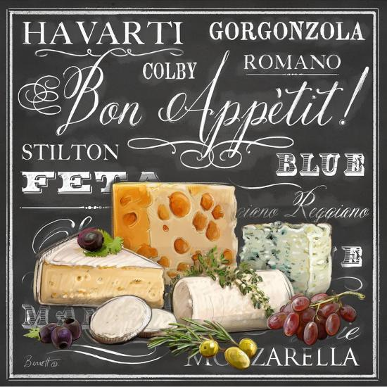 Gourmet Cheese Collection-Chad Barrett-Art Print
